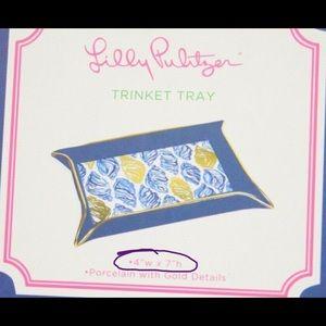Lilly Pulitzer Storage & Organization - NEW lilly pulitzer trinket jewelry tray storage